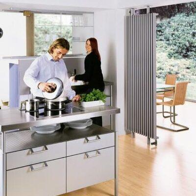 Дизайн радиатор Arbonia Arbotherm AT6 однорядный серый